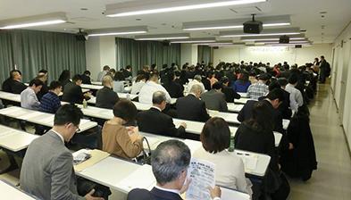 満員の会場(2016年1月16日 大阪市エル・おおさかにて)